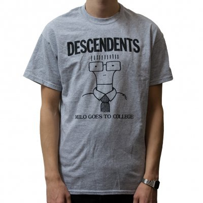 Cover DESCENDENTS, milo goes to college (boy) grey