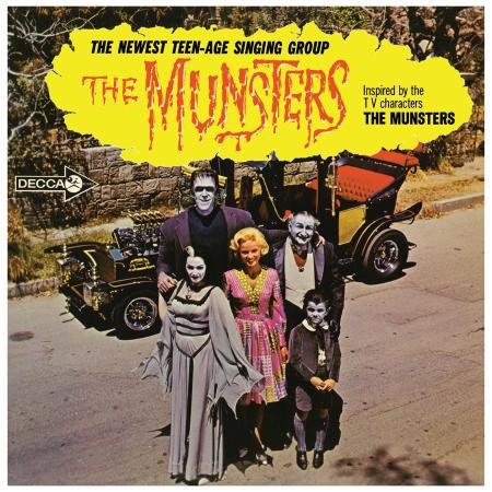 THE MUNSTERS, s/t cover