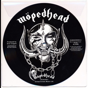 Cover JOHNNY MOPED, motörhead