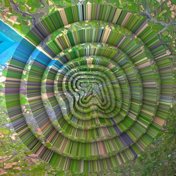 Cover APHEX TWIN, collapse ep