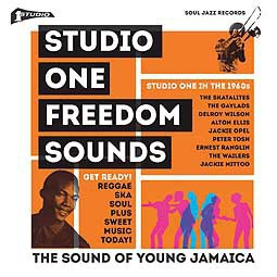 Cover V/A, studio one freedom sounds: studio one in the 60s