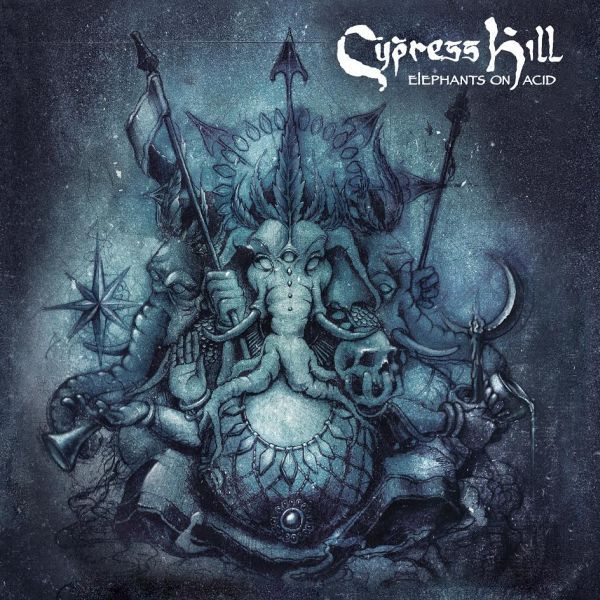 Cover CYPRESS HILL, elephants on acid