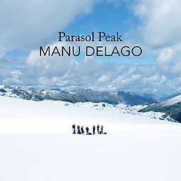 MANU DELAGO, parasol peak cover