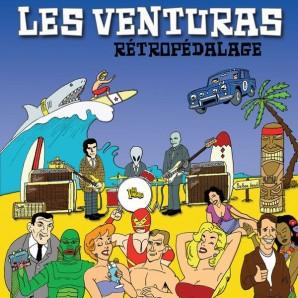 LES VENTURAS, rétropédalage cover