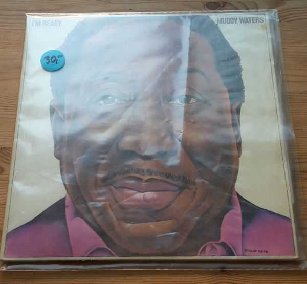 Cover MUDDY WATERS, i´m ready (USED)