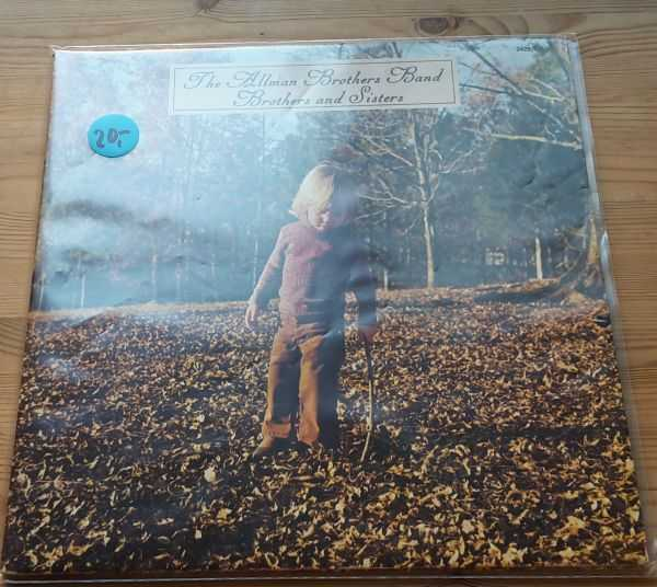 Cover ALLMAN BROTHERS, brothers and sisters (USED)