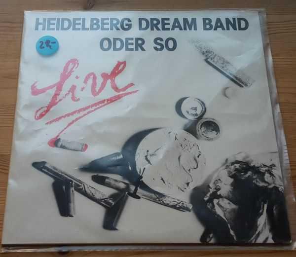 HEIDELBERG DREAM BAND, live (USED) cover
