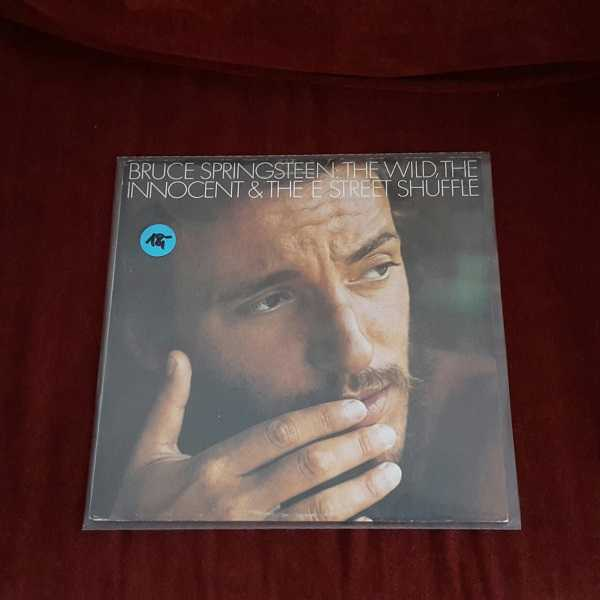 Cover BRUCE SPRINGSTEEN, the wild, the innocent & ... (USED)