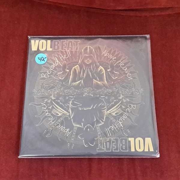 VOLBEAT, beyond hell/above heaven-brown vinyl (USED) cover