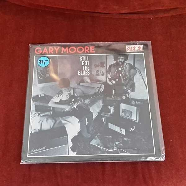 Cover GARY MOORE, still got the blues (USED)