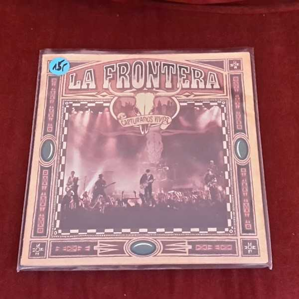 LA FRONTERA, capturos vidos (USED) cover