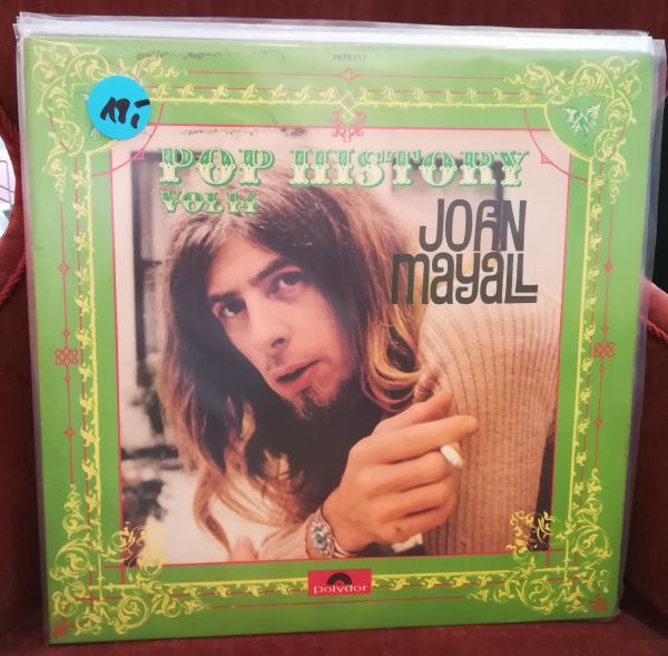 JOHN MAYALL, pop history vol. 14 (USED) cover