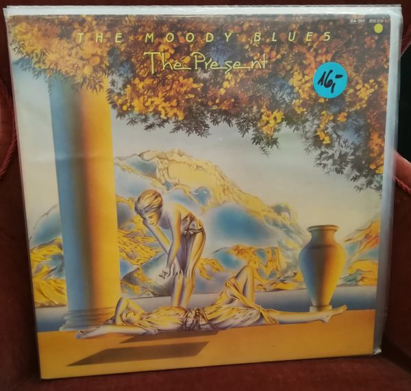Cover MOODY BLUES, the present (USED)