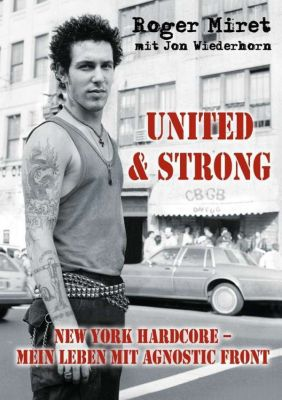 ROGER MIRET, united & strong cover