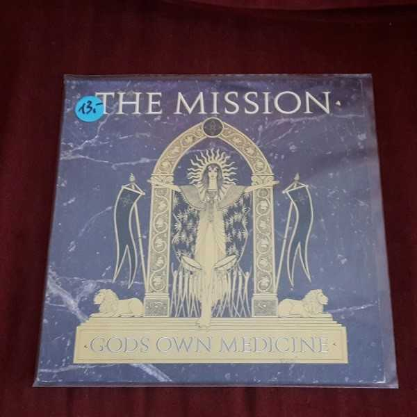 MISSION, gods own medicine (USED) cover