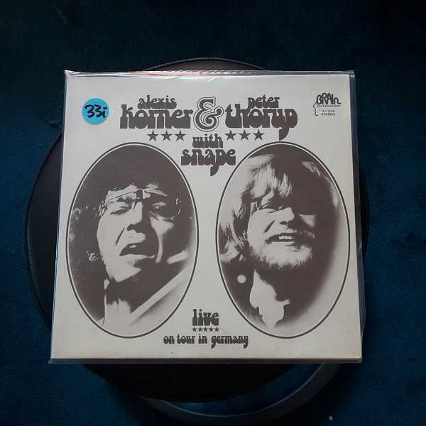 ALEXIS KORNER & PETER THORUP, live on tour in germany (USED) cover