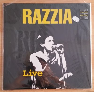 RAZZIA, live (USED) cover