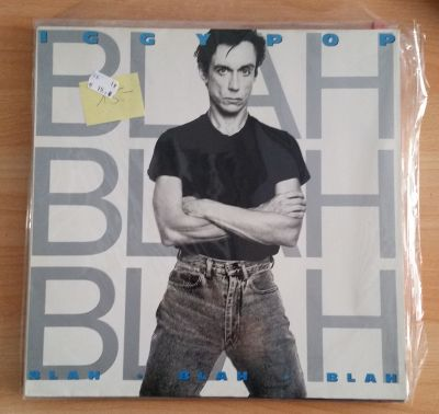 IGGY POP, blah-blah-blah (USED) cover