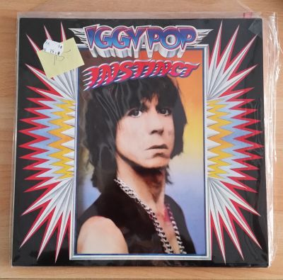 IGGY POP, instinct (USED) cover