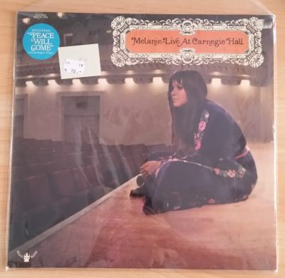 MELANIE, live at carnegie hall (USED) cover