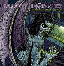 Cover HELLBATS / IRRADIATES, iron maiden´s gonna get you no matter how far