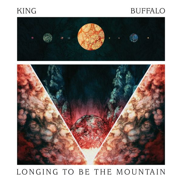 KING BUFFALO, longing to be the mountain cover