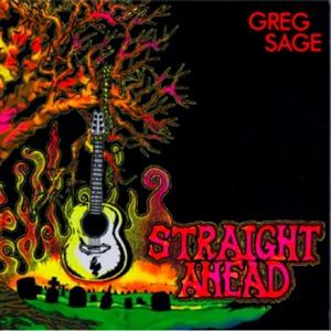 GREG SAGE, straight ahead cover
