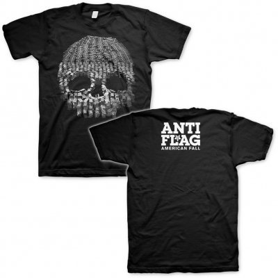 ANTI-FLAG, money skull (boy) black cover