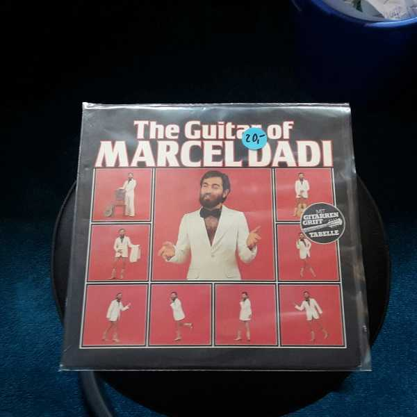 MARCEL DADI, the guitar of...(USED) cover