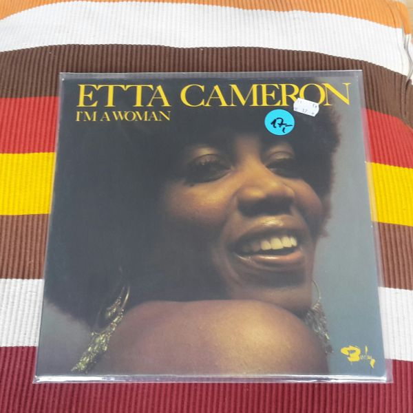 Cover ETTA CAMERON, i´m a woman (USED)