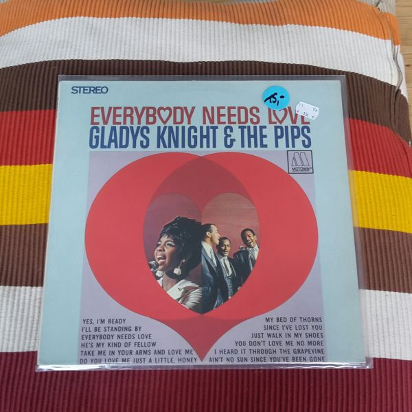 GLADYS KNIGHT & THE PIPS, everybody needs love (USED) cover