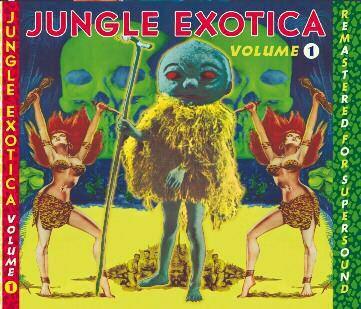 V/A, jungle exotica vol. 1 cover