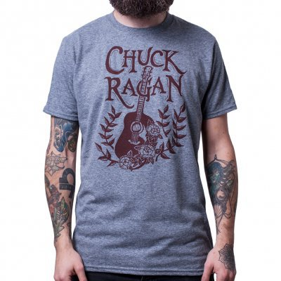 Cover CHUCK RAGAN, acoustic (boy) heather graphite