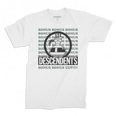 Cover DESCENDENTS, bonus cup (boy) white