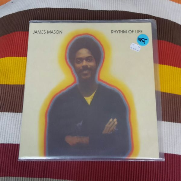 JAMES MASON, rhythm of life (USED) cover