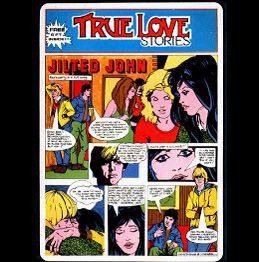 Cover JILTED JOHN, ture love stories