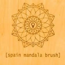 SPAIN, mandala brush cover
