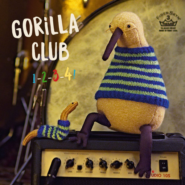 Cover GORILLA CLUB, 1-2-3-4
