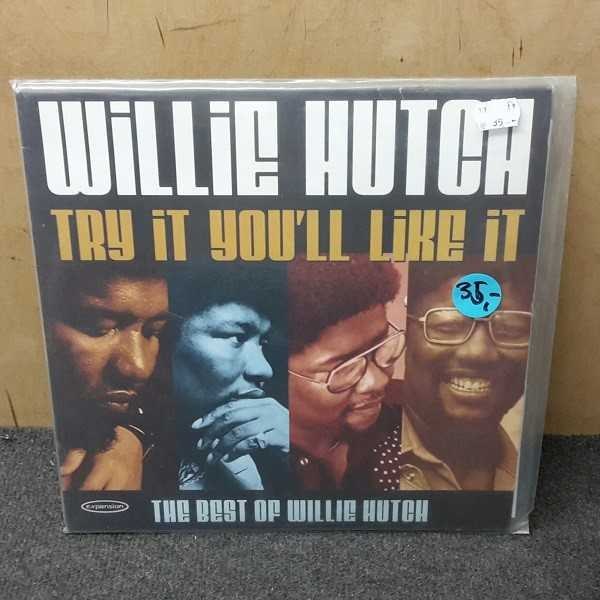 Cover WILLIE HUTCH, try it you`ll loke it (USED)