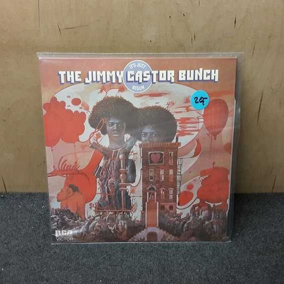 Cover JIMMY CASTOR BUNCH, it´s just begun (USED)