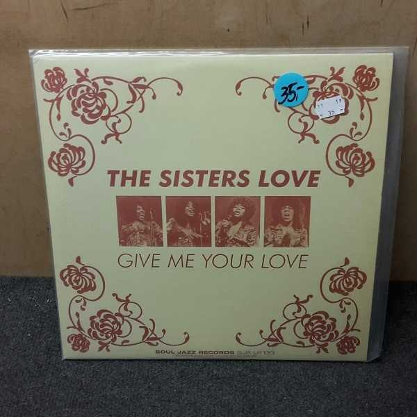 Cover THE SISTERS LOVE, give me your love (USED)
