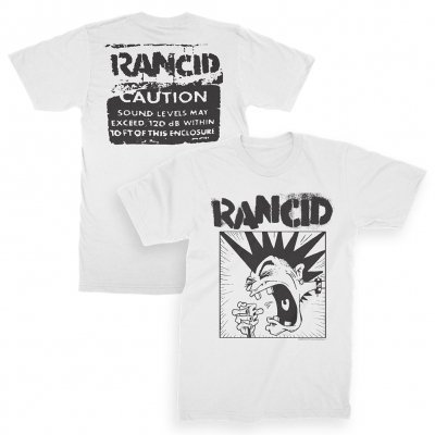 Cover RANCID, mohawk (boy) white