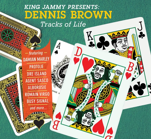 DENNIS BROWN, tracks of life cover