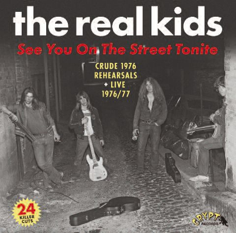 REAL KIDS, see you on the street tonight cover