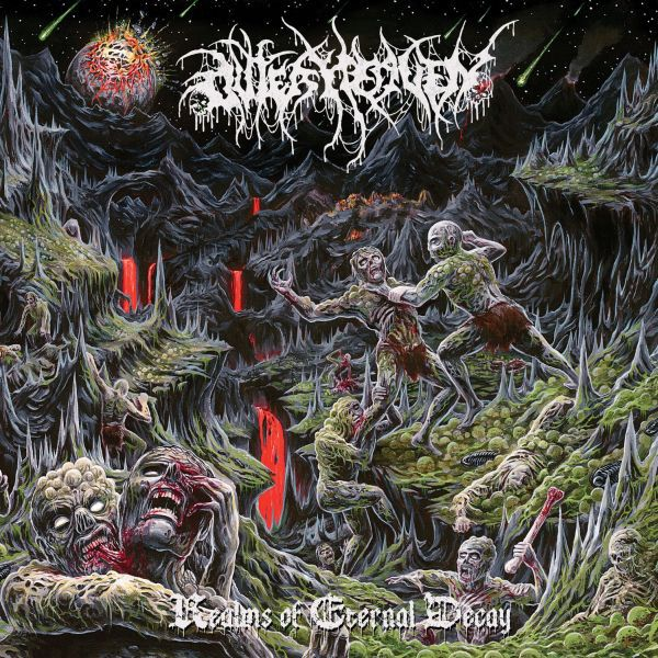 OUTER HEAVEN, realms of eternal decay cover
