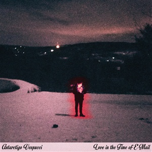 Cover ANTARCTIGO VESPUCCI, love in the time of e-mail