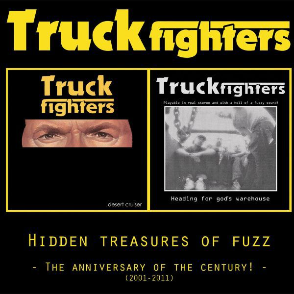 TRUCKFIGHTERS, hidden treasures of fuzz (reissue) cover