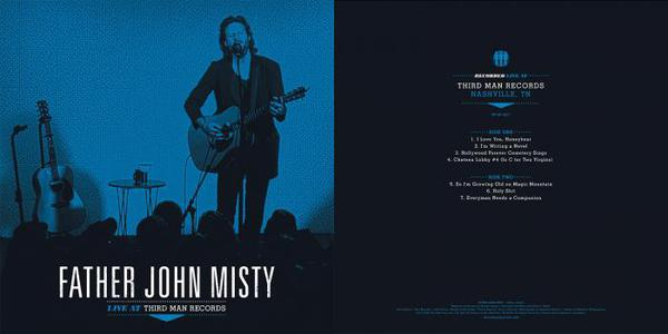 FATHER JOHN MISTY, third man live cover