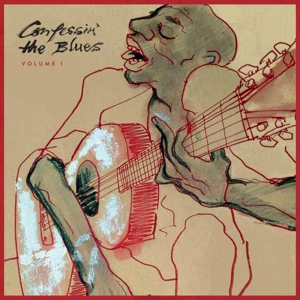 V/A, confessin´ the blues vol. 1 cover