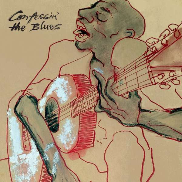 V/A, confessin´ the blues cover